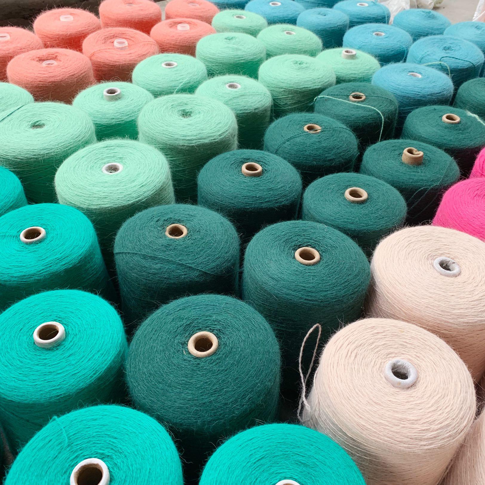 Шерстяные нитки для вязания Артикул 598952196326