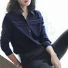 大码女士休闲衬衣长袖
