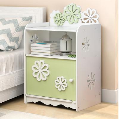 简易床头柜简约现代多功能迷你收纳柜卧室经济型床边小柜子储物柜