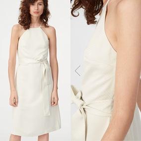 加拿大代购Club Monaco 5月新款Scharpettah吊带显瘦暗波点连衣裙