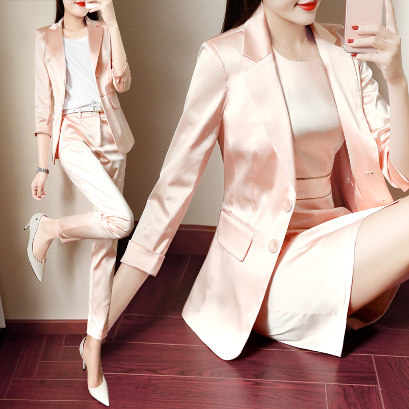 White-collar capable temperament Slim fashion small suit business suit suit business casual office