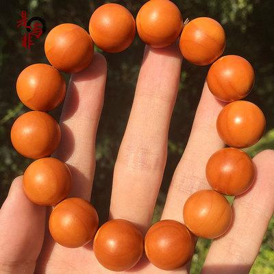 是与非橄榄核圆珠 正圆橄榄核手串素串 男女文玩手链