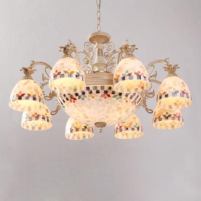 地中海吊灯饰客厅灯铁艺哪个好
