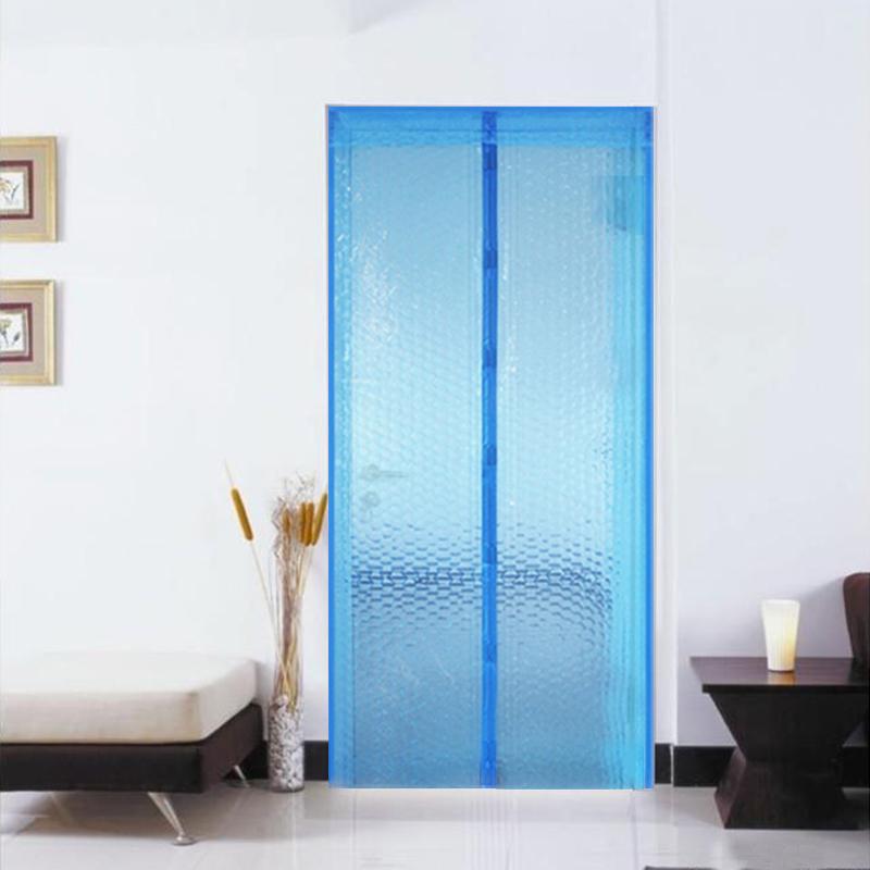 夏季保暖空调门帘 定做透明门帘隔断冷气 厨房油烟塑料防蚊门帘