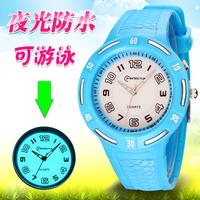 炫彩硅胶手表