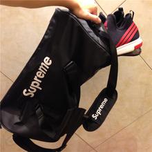 MX 17ss大容量圆桶旅行袋字母鞋袋包潮牌男女健身斜挎包手提包
