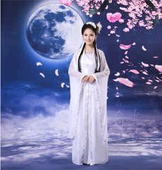古装仙女演出服 花仙子舞蹈服 古装舞蹈表演服 个人写真拍摄服饰