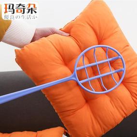 日本进口 长柄被子拍棉被除尘拍子枕头被褥晒被如意拍灰尘拍塑料