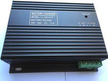 10A 12V 24V自动充电器 柴油发电机组蓄电池电瓶浮充充电器4A图片