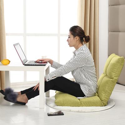 電腦椅小沙發可折疊懶人沙發床成人客廳單人小戶型靠椅臥室榻榻米官方旗艦店