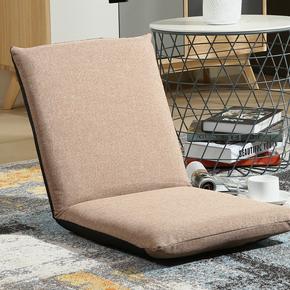 懒人沙发床上可折叠靠背椅榻榻米单人飘窗椅日式无腿椅喂奶椅子