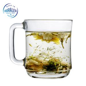 法国DURALEX多莱斯进口创意咖啡杯 家用情侣马克杯简约牛奶杯玻璃
