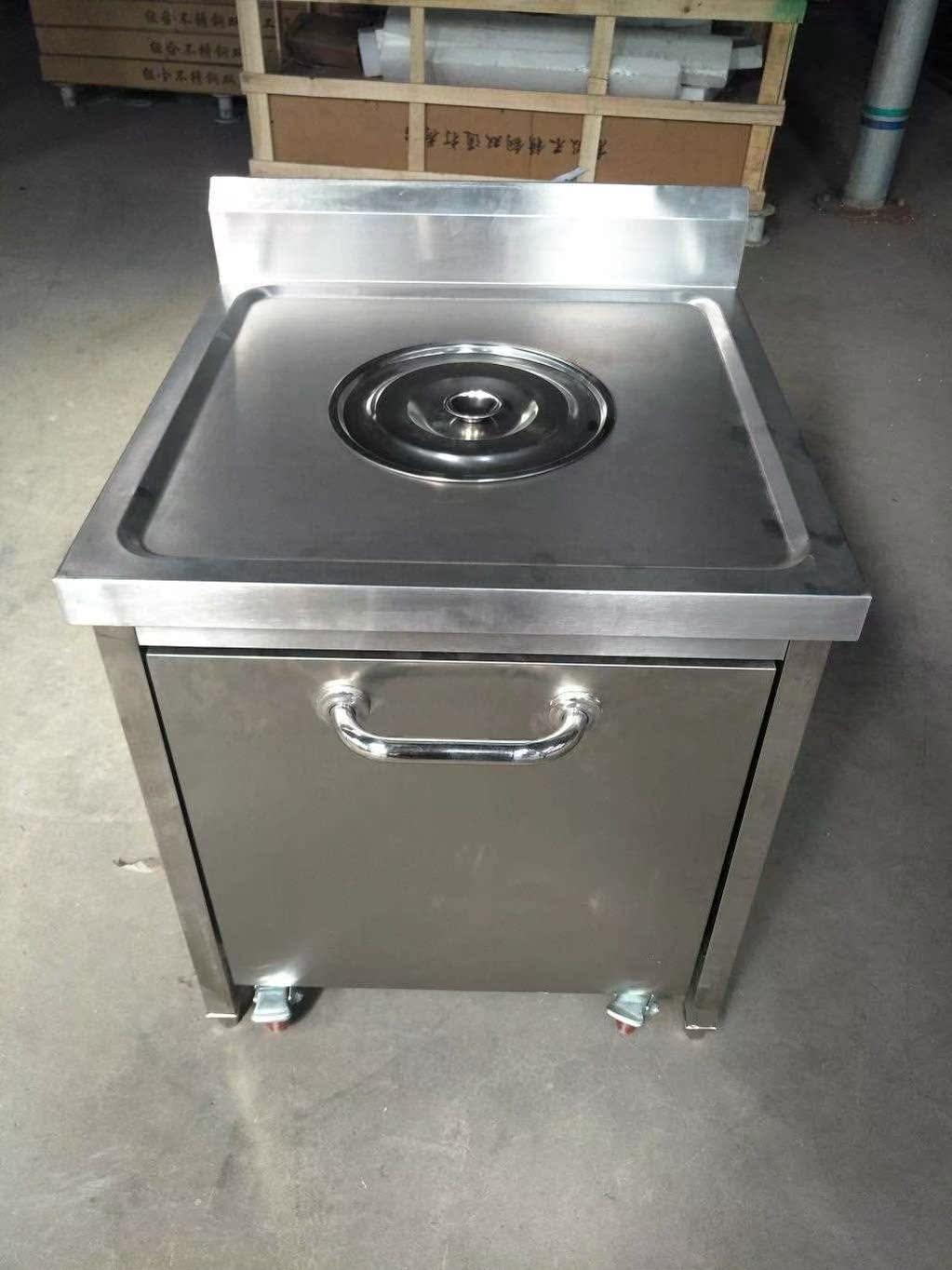 商用不锈钢收残车收残台 残食台 厨房泔水台 多功能 组合式车