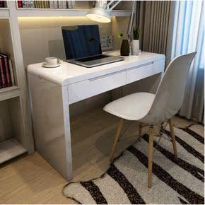 电脑桌简约现代经济型烤漆迷你小户型书桌宜家家用写字台办公桌