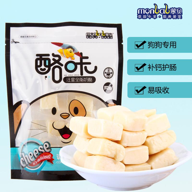 益生菌咔狗零食助肠道奶酪120g加DHA