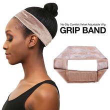 Headband假发带 cap Grip Band Hair Velvet Wig Adjustable Lace
