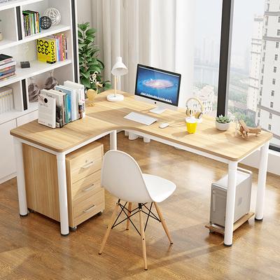 转角书桌电脑桌拐角台式书桌墙角学习桌子简约现代L型写字办公桌有实体店吗