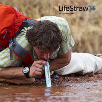 LifeStraw Life Straw Outdoor Portable Water Purifier Drinking Straw Spoon
