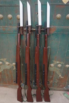 新品道具舞台表演道具枪步枪道具三八大盖木质步枪八路军红军道具
