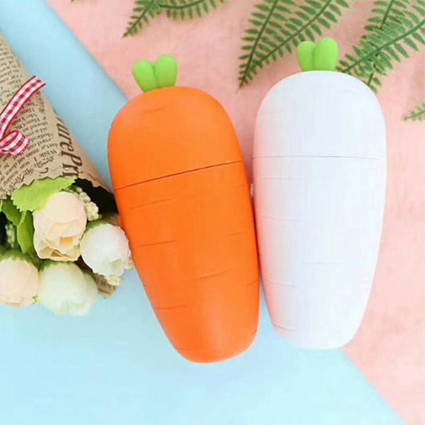 卡通创意萝卜USB充电风扇学生儿童随身玩具迷你风扇便携式小风扇