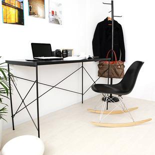 新品台式电脑桌现代简约家用1.2米笔记本办公北欧日式书桌带插座