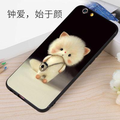 oppor9s手机壳女款防摔韩国可爱卡通r11plus个性创意9splus软硅胶