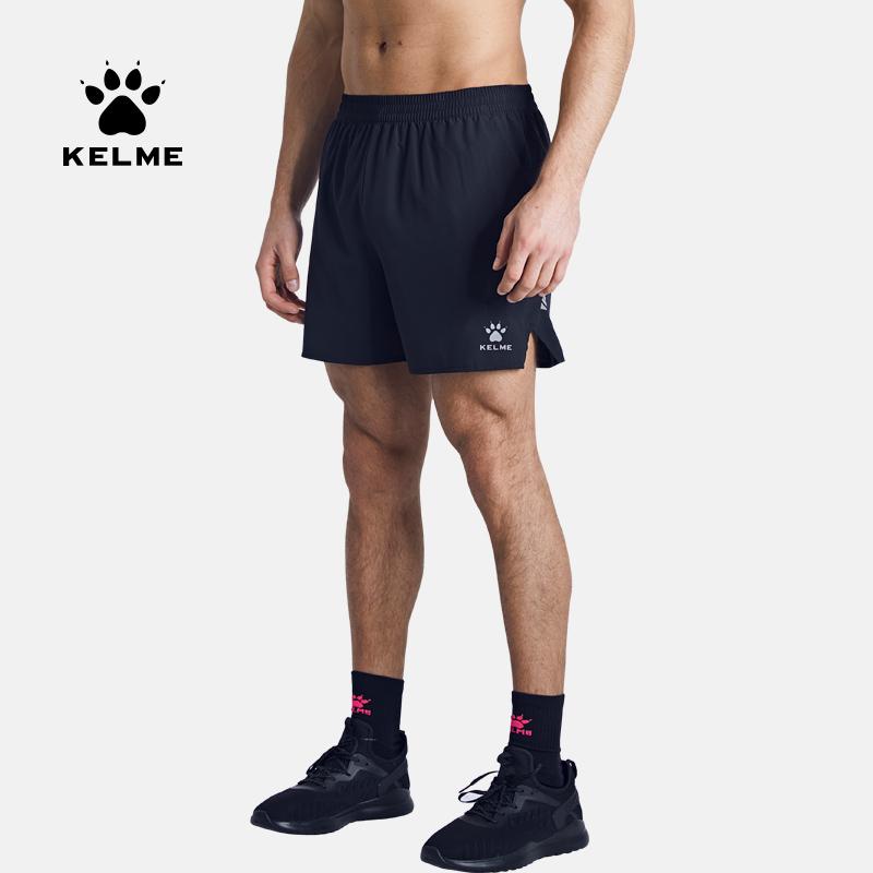 kelme卡尔美运动短裤男夏季透气跑步速干裤训练健身短裤宽松内衬