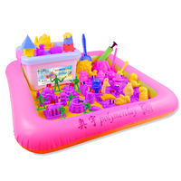 Aoyu Space Children's Sand Set Toy Magic Safe Non-toxic Boy Girl Clay Rubber Soil Wholesale