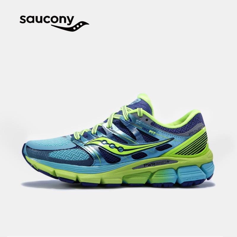 Saucony圣康尼 ZEALOT轻量耐磨跑步鞋 运动鞋女子跑步鞋 S10269