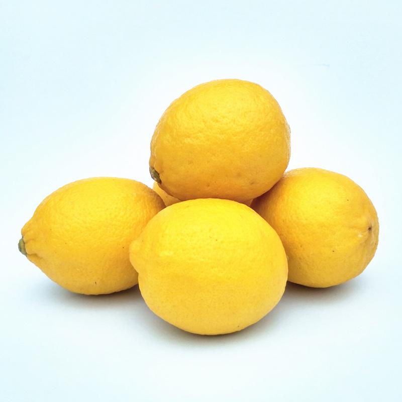 5斤四川安岳黄柠檬一级大果现摘多汁无腊新鲜水果孕妇水果