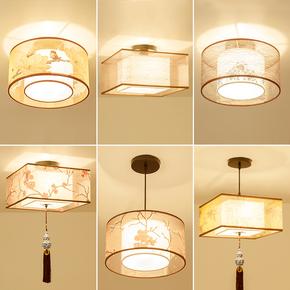 新中式小吊灯阳台过道走廊玄关客厅灯现代简约卧室灯创意餐厅灯具