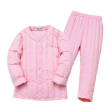 Affectionate children's down jacket suit boys and girls down liner baby light and warm in the big two-piece