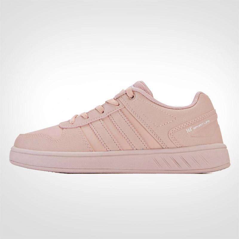 361度女鞋2019冬季新款跑步鞋運動鞋女361學生輕便板鞋粉色鞋子