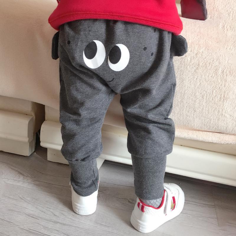 男童绒裤子