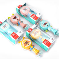 Beienshi early education puzzle baby toy newborn baby rattle music rattle 1-12 months