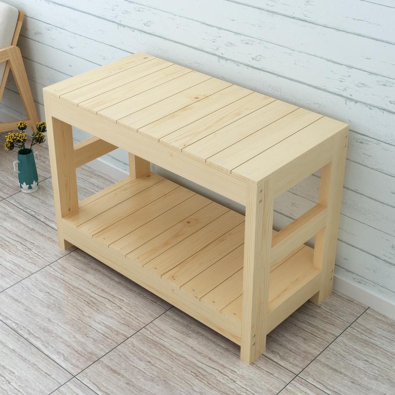 鱼缸柜子 实木架
