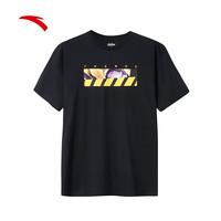 安踏官网短袖男2019夏季新款T恤漫威联名款正品短T钢铁侠透气美队