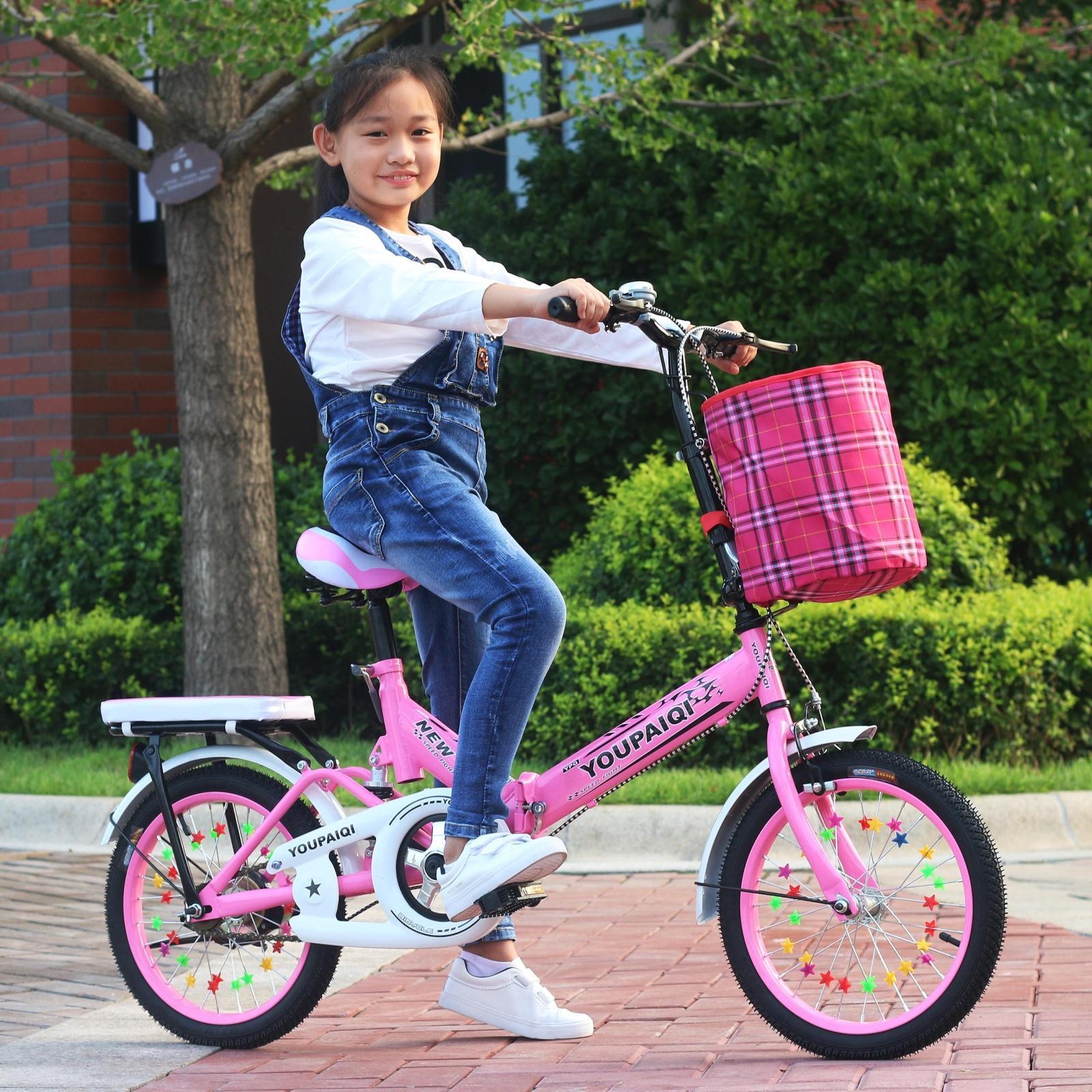 减震儿童单车