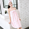 抹胸浴袍珊瑚绒