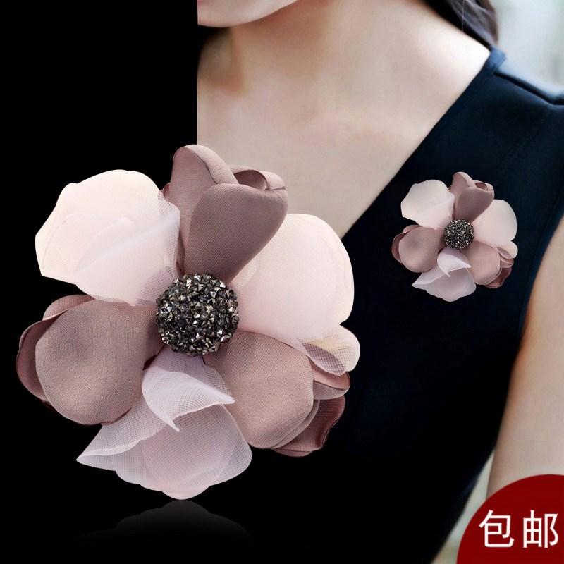 韩国手工胸花