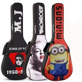 41寸40寸民谣木吉他包吉他背包彩绘个性加厚防水双肩吉它袋琴包