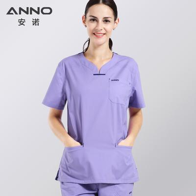 安诺手术服洗手衣手术衣医护弹力修身版医生服护士服手术室工作服