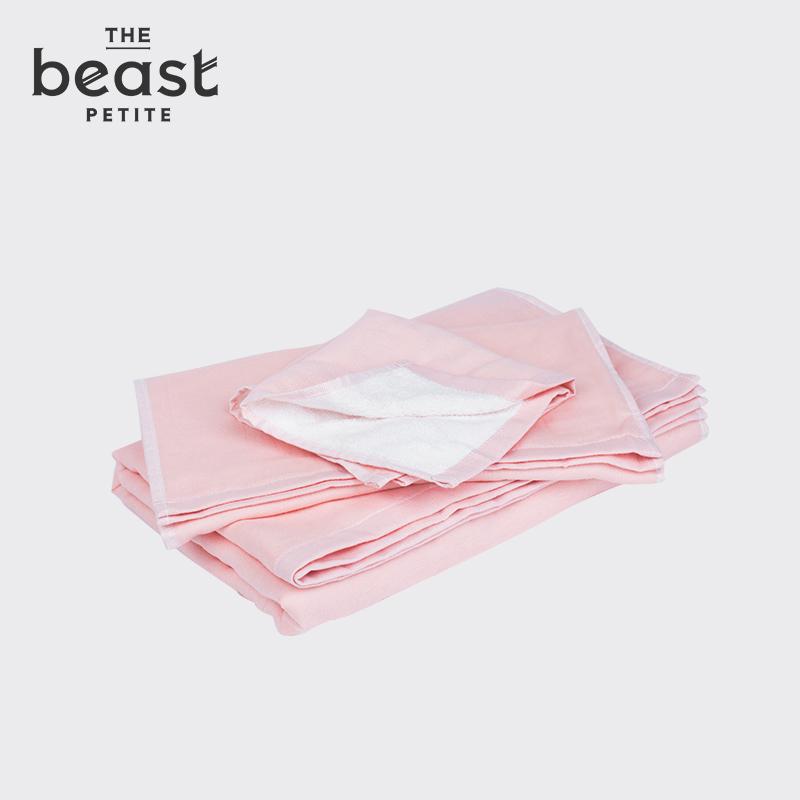 THE BEAST/野兽派 有机棉毛巾三件套 纯棉面巾浴巾