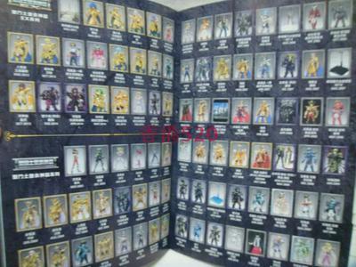 正版动漫周边 圣斗士星矢 圣衣神话 收藏集 模型写真 中文书 目錄