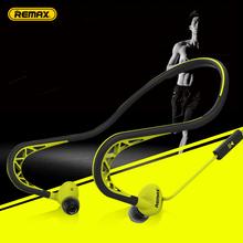 Remax/睿量 RM-S15有线运动耳机挂耳脑后式重低音炮手机电脑通用