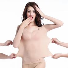 无缝肉色紧身内衣舞蹈演出服长袖 超薄肤色隐形袜衣舞蹈打底衫 正品