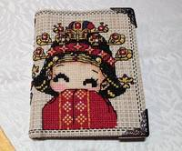 Cross stitch wallet products and kits new ideas handmade men and women long and short couples wife and adults 1