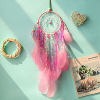 Diy cloud dream catcher ornaments small wind chime pendant pendant girl room kindergarten creative ceiling decorations