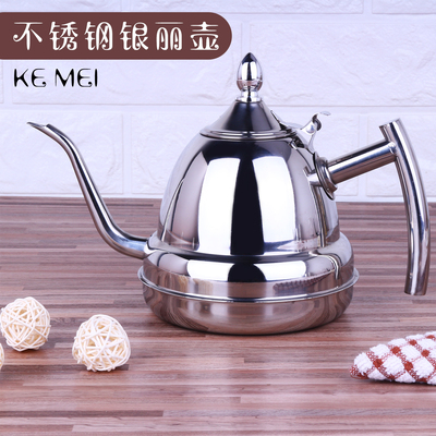 不锈钢茶壶细长嘴烧水煮水壶家用泡茶平底小水壶功夫茶具电磁炉专有假货吗