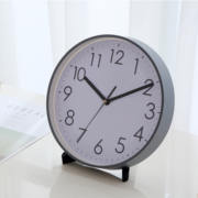 Silent clock clock clock living room large desktop clock clock decoration simple modern creative TV cabinet clock